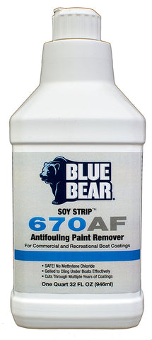 670AF Anti-Fouling Paint Remover - 1 Quart
