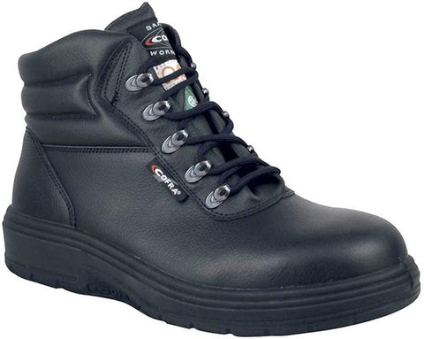Leather Work Boots - NEW ASPHALT Treadless Footwear- Size 11,Black