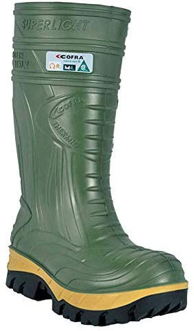 Waterproof Work Boots - THERMIC Cold Weather Rain Boot - Size 8,Dark Green