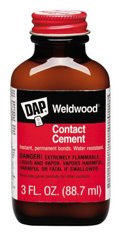 Weldwood, Contact Cement, 3 FL.OZ, (PACK OF 36)