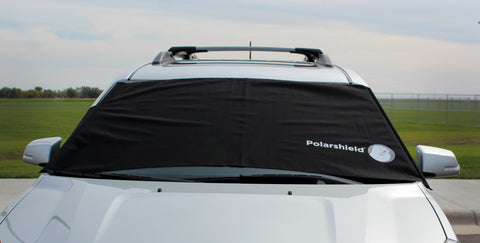 Delk Polarshield Winter Snow Car Wind Proof Cover Panels XL