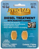 Diesel Treatment with Injector Cleaner Tab Card