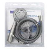 Shower Heads with Handheld Spray - Water Saver Shower Head Nickel