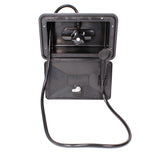 Black RV Outdoor Shower Box – Shower Valve with Shower Head and Hose