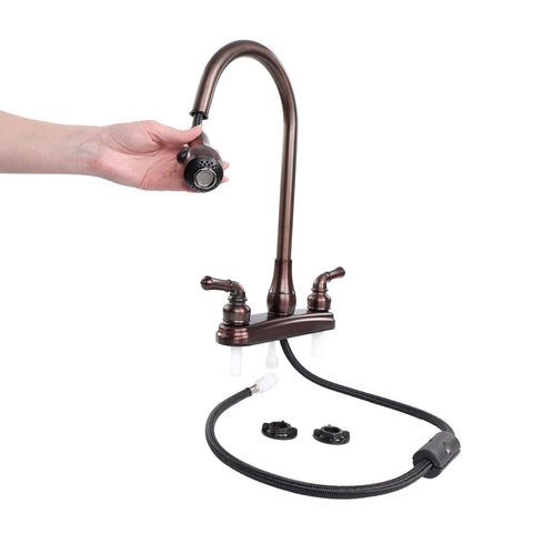 Empire Faucets Rv Kitchen Faucet Replacement With Pull Down Sprayer Br
