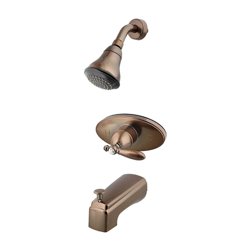 Shower Diverter Kit - Bronze High Flow Shower Diverter Valve Kit