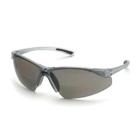 Safety Glasses Gray Lense Graphite Frame