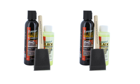 Forever Black 010 Cleaner/Reconditioner for Bumper and Trim (2 Pack) - Autobodynow.com