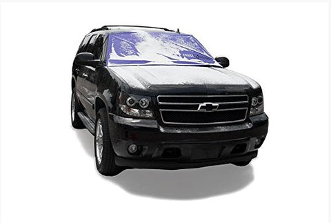 FrostGuard Premium Winter Windshield Cover, Purple (Standard)