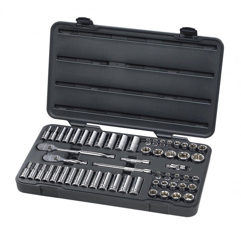 57 Piece 3/8-Inch Drive 6 Point Socket Set