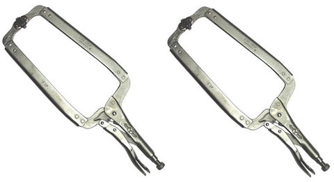 Locking Clamp with Swivel Pads