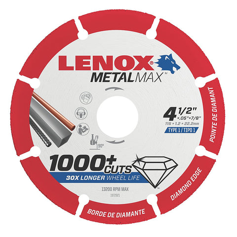 MetalMax Cutoff Wheel