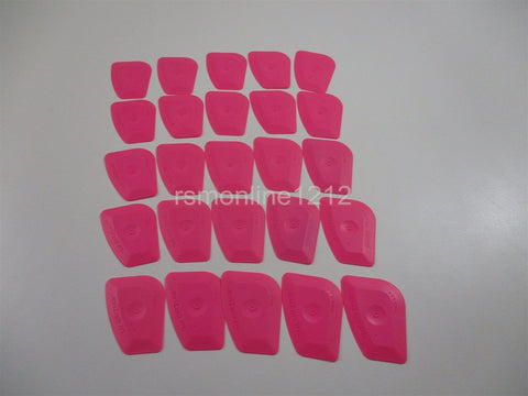 Lot of 25 Pink Window Film Tint Installation Tools NEW