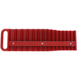 3/8 Inch Drive Red Magnetic Socket Holder