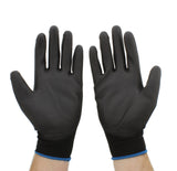 PU Nylon Gloves, Pack of 12