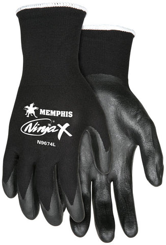 Nylon Spandex Shelled Protective Gloves Small