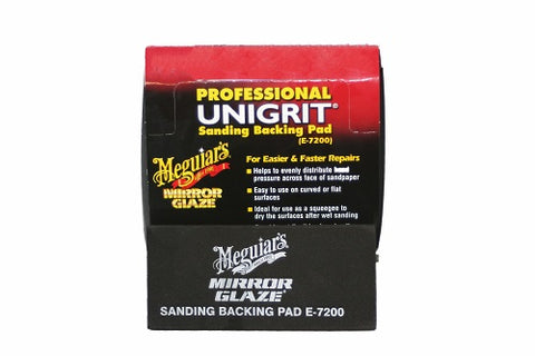 Meguiar's E7200 Mirror Glaze High-Tech Backing Pad (10 Pack) - Autobodynow.com