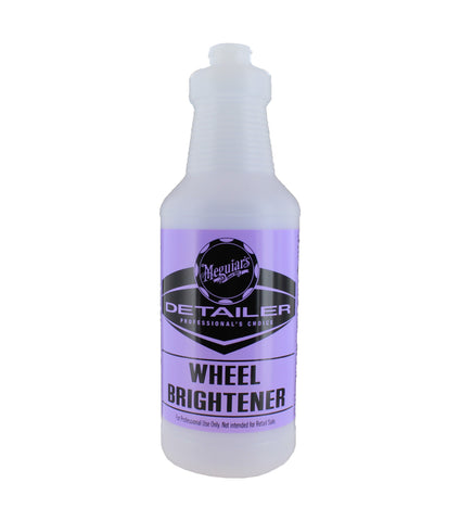 Wheel Brightener Bottle