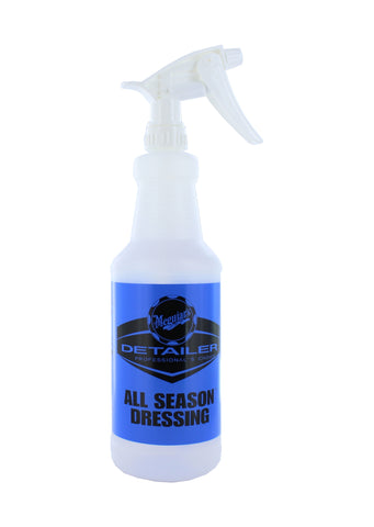 All Season Dressing Bottle with Standard Sprayer