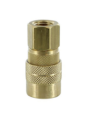M Style Quick Coupler: 1/4-Inch Female Coupler