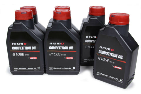 102497 Competition Oil 0W30 Case 6 X 1 Liter