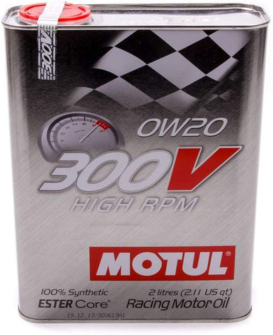 MTL104239 300V 0w20 Racing OilSynthetic 2 Liter, 67.62 Fluid_Ounces