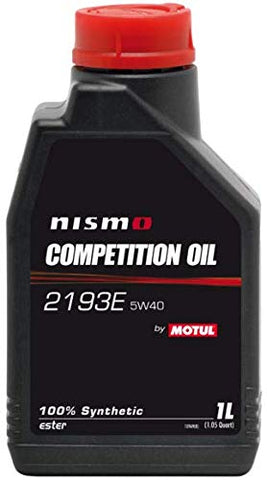 NISMO Competition Oil 2193E 5W40 for GT-R R35