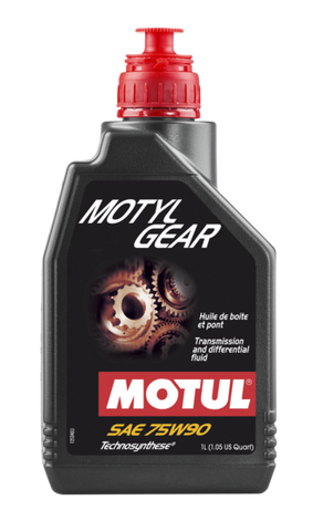 109055 Motylgear Technosynthese 75W90 Gearbox and Differential Lubricant 1 Liter