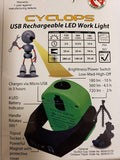 MXN00430 WorkStar 430 Combination LED Work Light/Penlight, Rechargeable