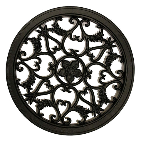 Round Decorative Insert for Fencing, Gates, Home, Garden ACW55