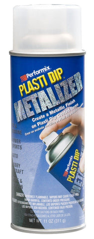 Silver Metalizer Cans, 4-Pack