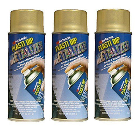 Gold Metalizer Multi Purpose Rubber Coating Spray
