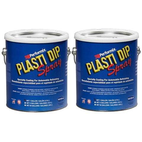 Rubber Coating Aerosol Black Gallon