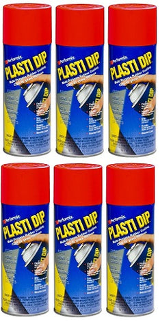 Performix Plasti Dip 11201 Multi-Purpose Rubber Coating Aerosol 11 Ounce Red