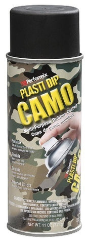 Rubber Coating Aerosol Black Camo