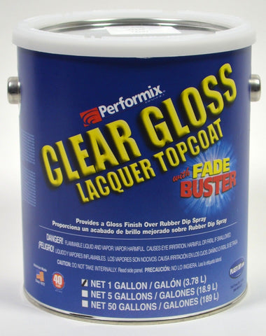Clear Glossifier Lacquer Topcoat