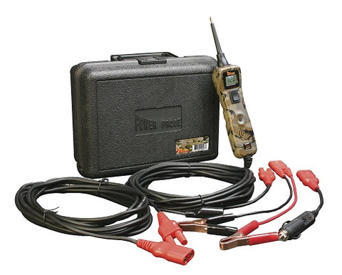 Power Probe III Circuit Test Kit - PP319 in Camo - Voltmeter and Accessories