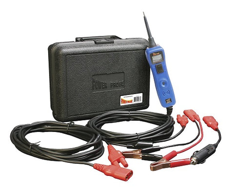 Power Probe III Circuit Test Kit - PP319 in Blue - Voltmeter and Accessories