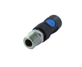 Male NPT Safety Air Coupler