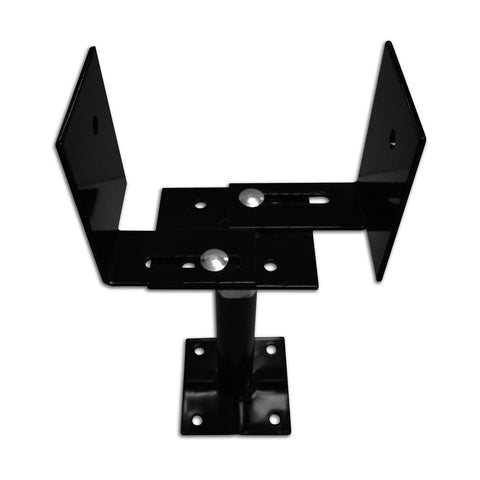 12098 33/66 Extendable Deck Support, Black - 5 Pack