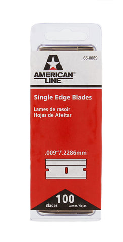 No. 9 Single Edge Finish Pro Razor Blades