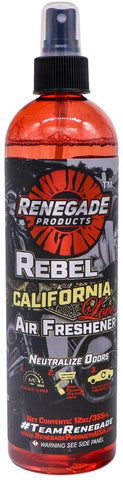 California Love 12 Ounce Sweet Vanilla Deodorizer Car Scent