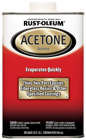 Acetone For Thinning