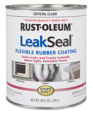 Flexible Rubber Coating Sealant Crystal Clear