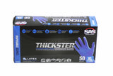 Thickster Lightly Powdered Latex Exam Grade Gloves