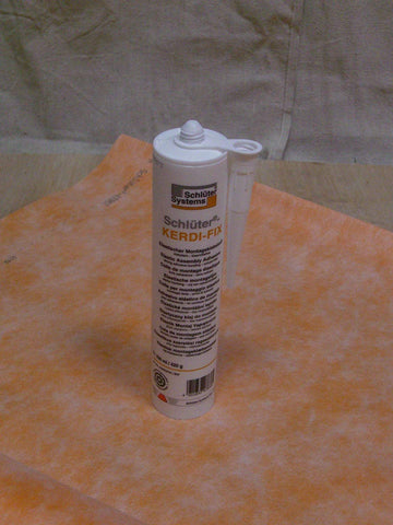 9.81OZ WHITE KERDI FIX SEALANT