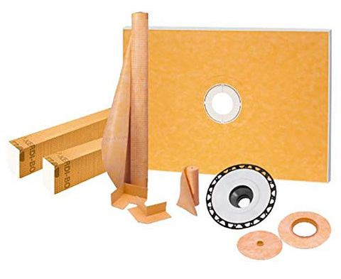 "Kerdi-Shower Kit 38"" x 60"", ABS Flange"