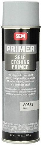 SEM 39683 Grey Self Etching Primer - 15.5 oz. (6 Pack)