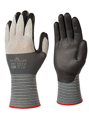 381 Nitrile Ultra-Light Work Glove, Large (Pack of 12 Pair)