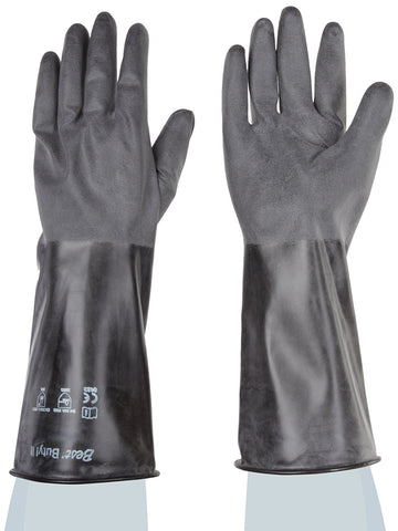Unlined Butyl Gloves Medium